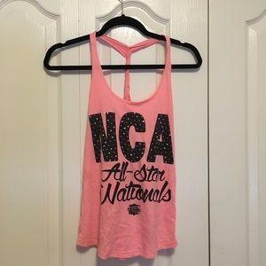 NCA Allstar Nationals Tank Top Pink